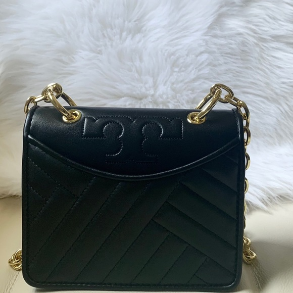 Tory Burch Handbags - Alexa mini shoulder bag Tory Burch black new